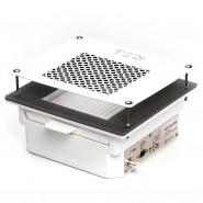 Teri Turbo профессиональная встраиваемая маникюрная вытяжка с HEPA фильтром (белая нержавеющая сетка)