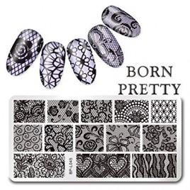 Пластина для стемпинга Born Pretty BPL-045
