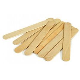 Деревянный шпатель для нанесения воска 50 шт/уп
