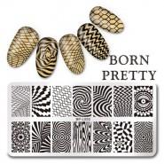 Пластина для стемпинга Born Pretty BPL-050
