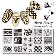 Пластина для стемпинга Born Pretty BPXL-006