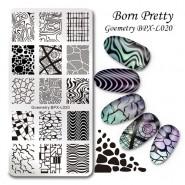 Пластина для стемпинга Born Pretty BPXL-020