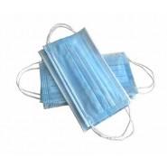 Маска захисна медична на резинках блакитна SAFE+MASK® ECONOMY