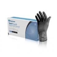 Нітрилові чорні рукавички SAFETOUCH® ADVANCED 100 Штук, Розмір XS,S,M,L,XL