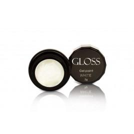 Гель-краска Gloss - White, 3 мл