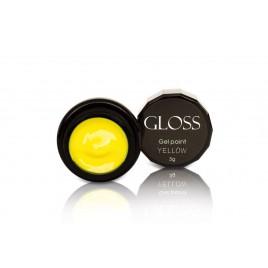 Гель-краска Gloss - Yellow, 3 мл