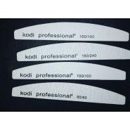 Пилки для ногтей Kodi 80/80, 100/100, 100/180, 180/240