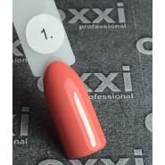 Гель лак Oxxi №001 (коралловый, эмаль)